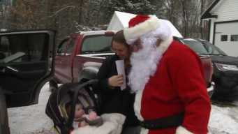 Maine Secret Santa Giving Cash to People at Food Pantries