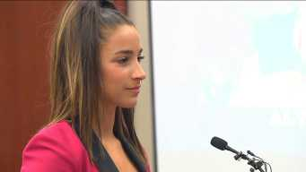 'Tables Have Turned Larry': Aly Raisman Speaks at Sentencing