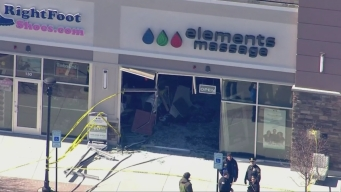 Car Goes Into a Building in Mansfield