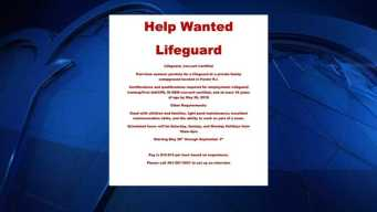 Help Wanted: Lifeguard for Nudist Campground in RI