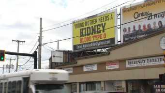 'Can't Give Up': Mom Using Billboard to Find Kidney Donor