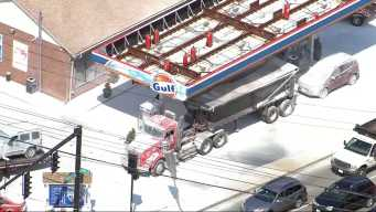 YIKES! Gas Station's Fire Suppression System Discharges