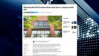 BBJ Report: Athenahealth Mulls Sale After CEO Steps Down