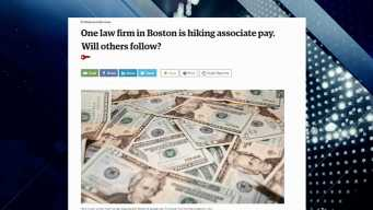 BBJ Report: Associate Pay Hike at Law Firm