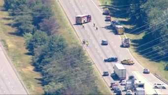 I-495 Shut Down for Hours Due to 'Electrical Wire Hazard'