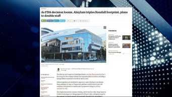 BBJ Report: New Plans for Alnylam