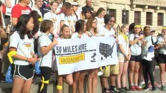 50 Miles More: Students March to Smith & Wesson