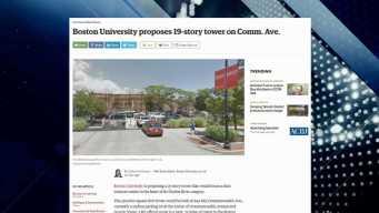 BBJ Report: Proposed BU Tower