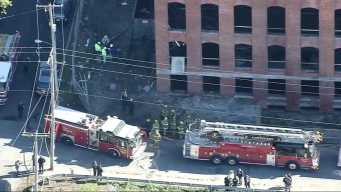 3 Injured in Collapse Inside Old Mill in Pawtucket, RI