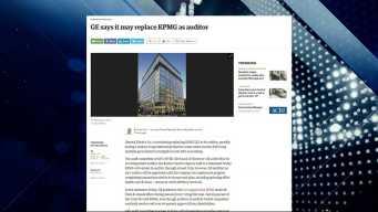 BBJ Report: GE May Replace KPMG as Auditor