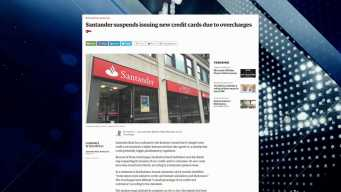 BBJ Report: Santander Suspends Issuing New Credit Cards