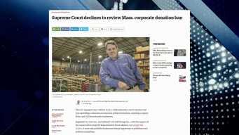 BBJ: Supreme Court Won't Review Mass. Corporate Donation Ban