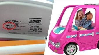 Fisher-Price Recalls 44K Barbie Dream Campers