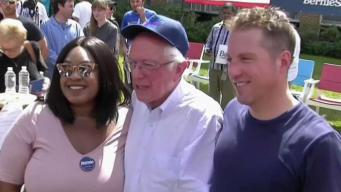 Bernie Sanders in NH: 'We Are Taking on the Establishment'