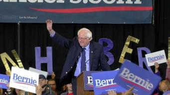 Bernie Sanders in NH Says His Ideas Have Gained Acceptance