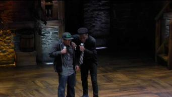 Boston Students Learn From Cast of 'Hamilton'
