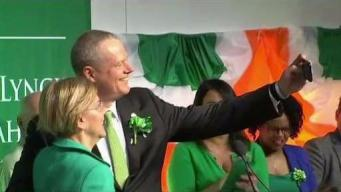 Jokes Galore at Boston's Annual St. Patrick's Breakfast