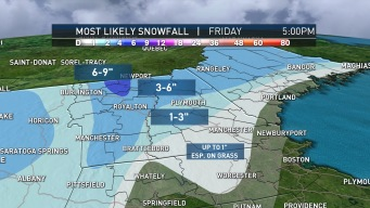Parts of New England Could Get Several Inches of Snow This Week