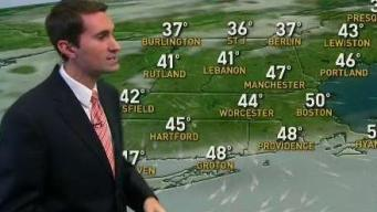 Cloudy With High Temperatures in the 40s Today