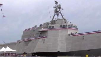 NH Hosts Commissioning of USS Manchester