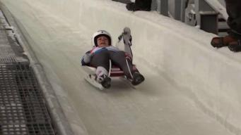 Conn. Luger Emily Sweeney Excited for 1st Olympics