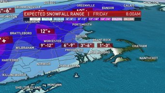 Nor'easter to Bring Steady, Heavy Snow for Some