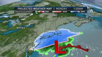Light Monday Snow Expected to Melt; Cold Front on Way
