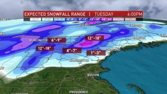 System Bringing Heavy Rain to South, Heavy Snow to North