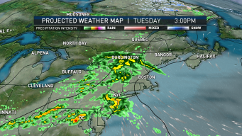 High Pressure System Moves Into Area Bringing Showers
