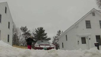 Vermonters Clean Up From Autumn Snowfall