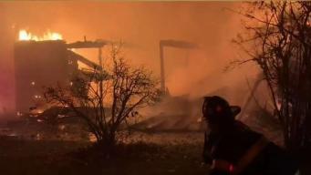 Overnight Fire Destroys Historic Barn in Dedham