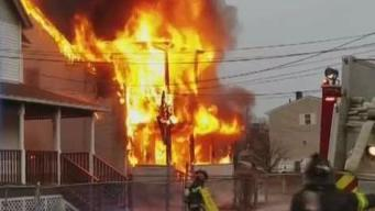 Fire Ravages Two Buildings in Hartford Over Weekend