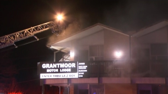 Six Taken to Hospital After Fire at Motel
