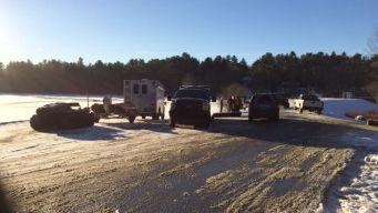 Search for Missing Conn. Snowmobiler Suspended