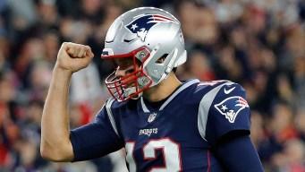 Patriots' Brady Looking to Stay Unbeaten Against Bears