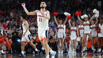Virginia Heads to Title Game After Beating Auburn 63-62