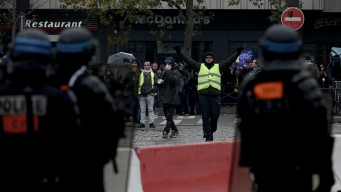 France: Tensions With Police on Yellow Vest 1st Birthday