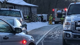 1 Dead After Truck Crashes Into House in Hampton, Conn.