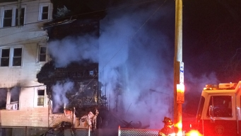 Fast-Moving Fire Rips Through Hartford Apartment Building