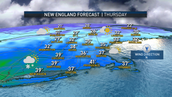 Icy Spots Overnight As Temperatures Drop