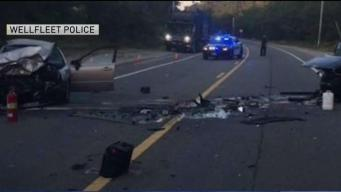 Head-on Collision in Wellfleet Sends Two People to Hospital