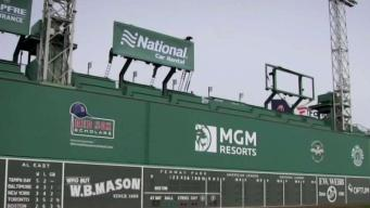 History of Fenway Park's Green Monster