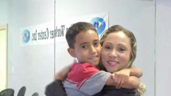 Mom, Son Reunited: 'We Should Be Treated as Human Beings'