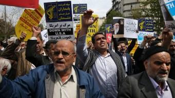 Iran Guard Terror Designation May Endanger U.S. Troops