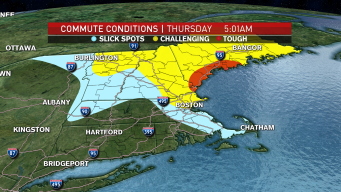 Slick Spots to Start Thursday