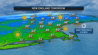 Sunny and Cool November Weekend Ahead