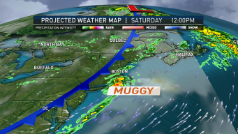 Humid Weather Returns Today; Drier, Cooler This Weekend