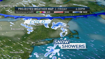 Cool and Dry Weekend After Snow Squalls Tomorrow