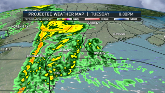 Rain Moves Into Region Tuesday