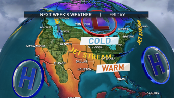 Wintry Chill Making Its Way to New England